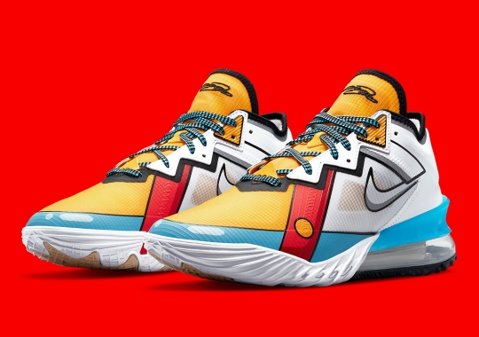 Stewie Griffin Returns On The Nike LeBron 18 Low