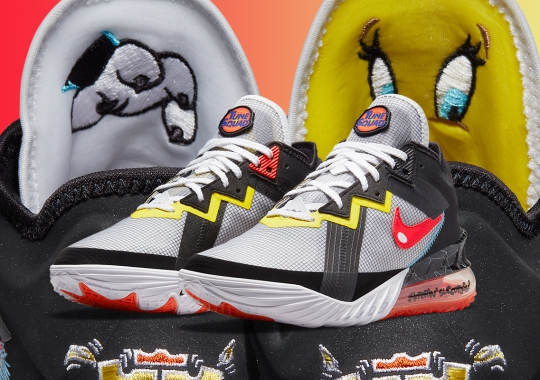 Sylvester And Tweety Battle It Out On The Nike LeBron 18 Low