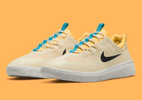 The Nike SB Nyjah Free 2 Appears In Soft Mango Hues