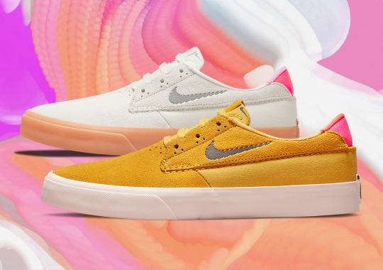 """The Nike SB Shane Mixes Muted """"Pollen"""" With Bold """"Rawdacious"""" Flair"""