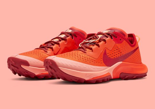 "The Nike Zoom Terra Kiger 7 Gets Tonal In ""Team Orange"""