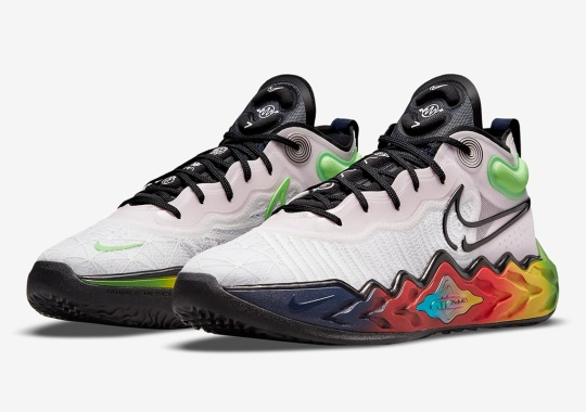 This Nike Zoom GT Run Pays Homage To The Olympic Rings' Five Colors