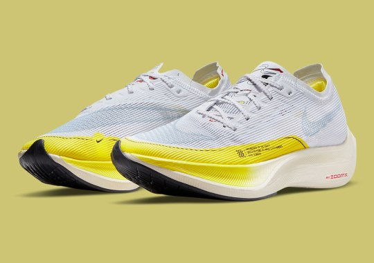 A Multitude Of Swooshes Are Hidden On This Women's Nike ZoomX Vaporfly NEXT% 2