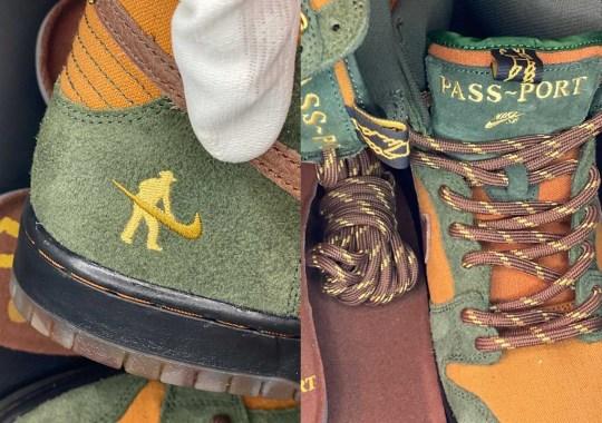 PASS~PORT Skateshop Digs Up A Hiking Boot-Themed Nike SB Dunk High