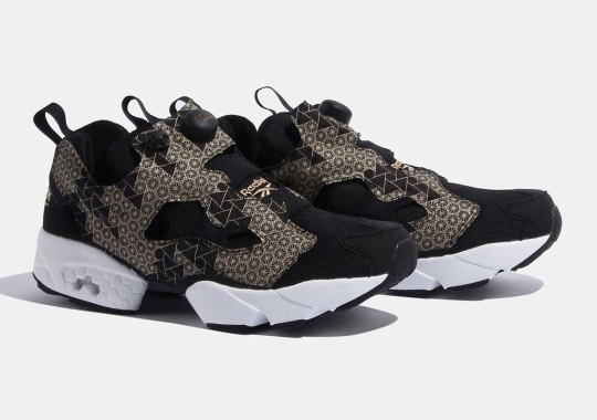 Traditional Japanese Crafts Inspire This Exclusive Reebok Instapump Fury