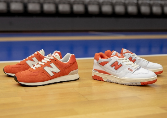 """Size? Brings Syracuse's Orange Flavor To Their New Balance """"College Pack"""""""
