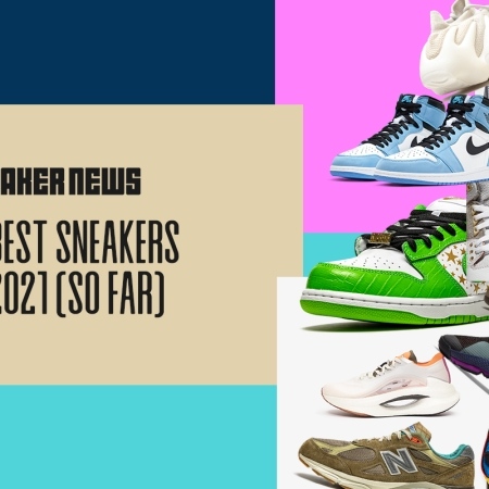 The Top 10 Sneakers Of 2021 (So Far)