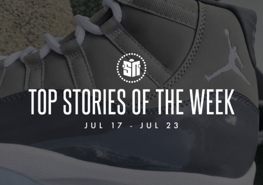 Twelve Can't Miss Sneaker News Headlines from July 17th to July 23rd