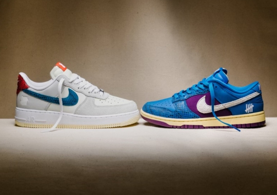 """Undefeated Recalls The Golden Era Of Exotic Materials With The Dunk Vs. AF-1 """"5 On It"""""""