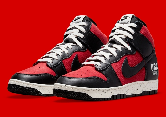 """UNDERCOVER Further Commemorates The Tokyo Olympics With The Dunk High 1985 """"UBA"""""""