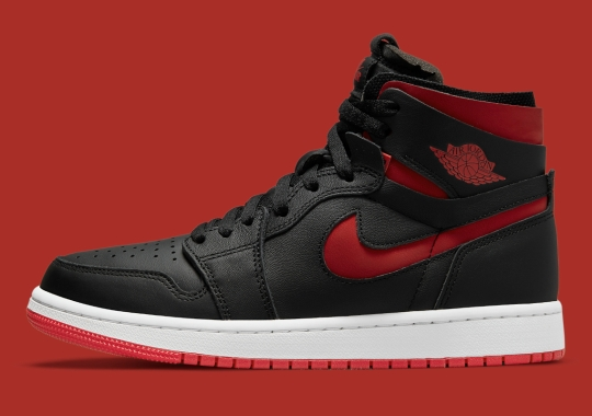 """Official Images Of The Women's Air Jordan 1 Zoom CMFT """"Bred"""""""
