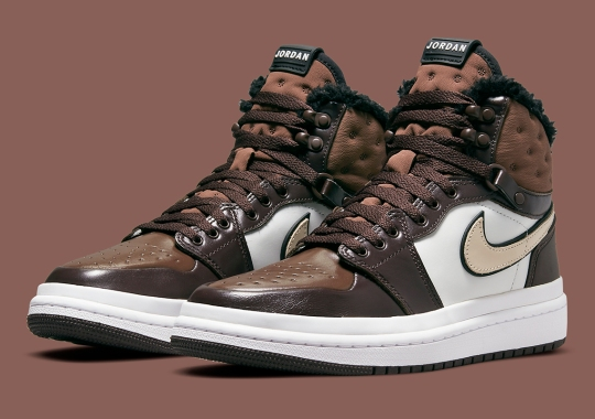 The Air Jordan 1 Acclimate Covered In Brown For A Hiking Ready Look