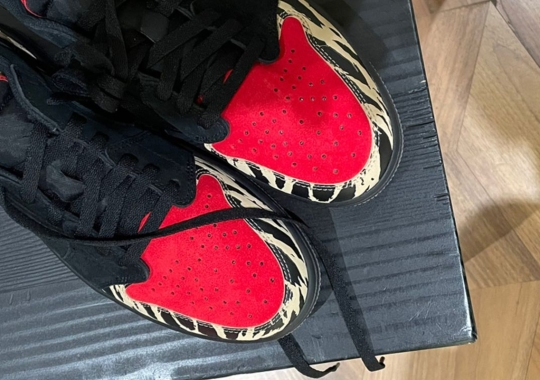Travis Scott Teases The Upcoming SoleFly x Air Jordan 1 Low