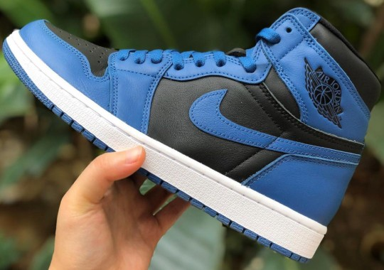 "First Look At The Air Jordan 1 Retro High OG ""Dark Marina Blue"""