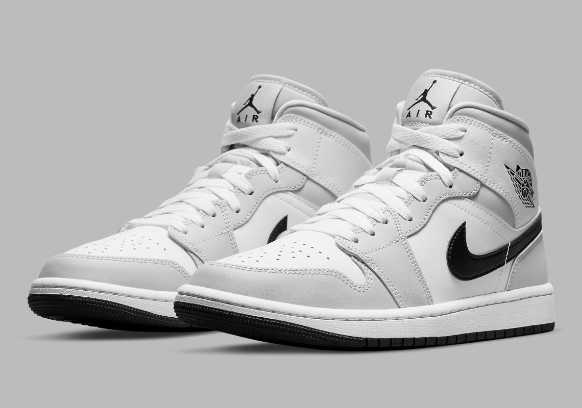 Air Jordan 1 Mid W Light Smoke Grey BQ6472-015 | SneakerNews.com