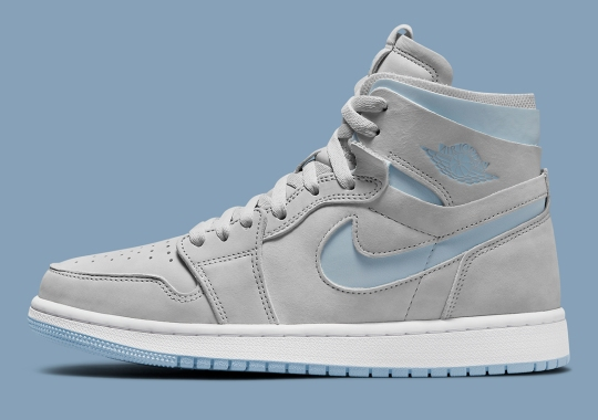 The Air Jordan 1 Zoom CMFT Pops With Baby Blue Accents