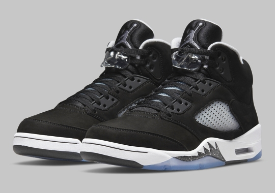 """Official Images Of The Air Jordan 5 """"Oreo"""""""