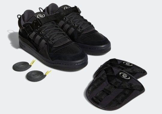 """Where To Buy The Bad Bunny x adidas Forum Buckle Low """"Core Black"""""""