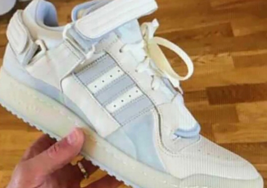 """Bad Bunny Drops The Buckles For The adidas Forum Low """"White Bunny"""""""