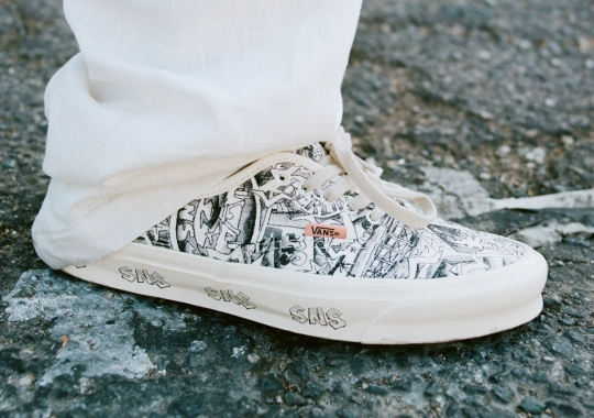 """SNS Pays Homage To Itself And """"Off The Wall"""" History With The Vault By Vans OG Authentic LX"""