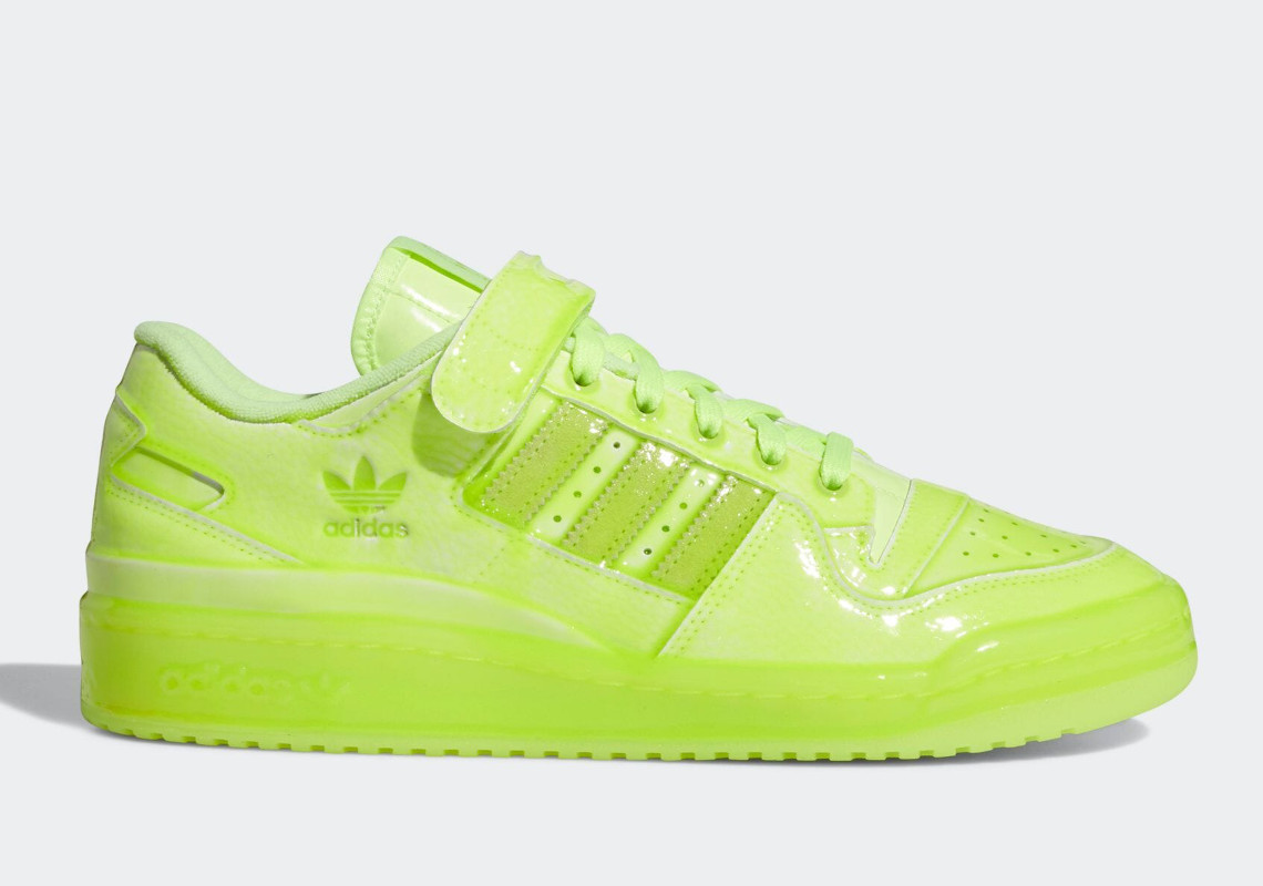 Jeremy Scott Adds Neon Pink And Green To The adidas Forum Low Dipped