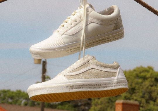 """Kids Of Immigrants Reunites With Vans On Old Skool """"Anything Is Possible"""" Collaboration"""