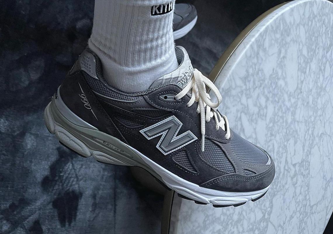 Ronnie Fieg KITH New Balance 990v3 Tornado | SneakerNews.com