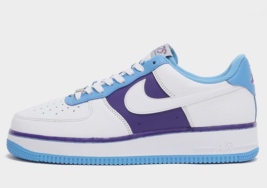 """The NBA's Diamond Anniversary Celebration Continues Strong With The Nike Air Force 1 """"Lakers"""""""