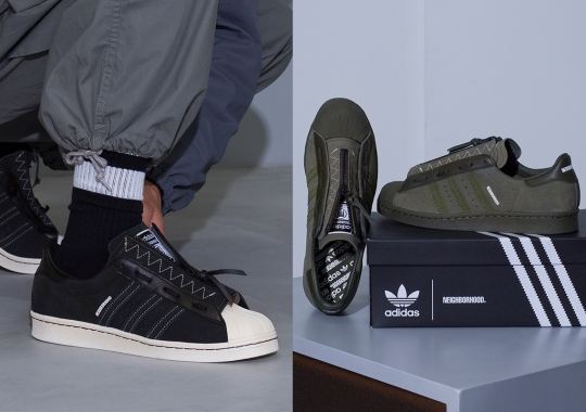 NEIGHBORHOOD To Release Their adidas Superstar 80s Exclusively In Japan