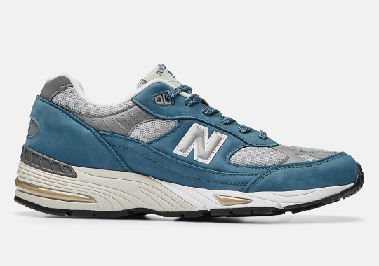 New Balance's Made In UK 991 Returns In A New Blue Colorway