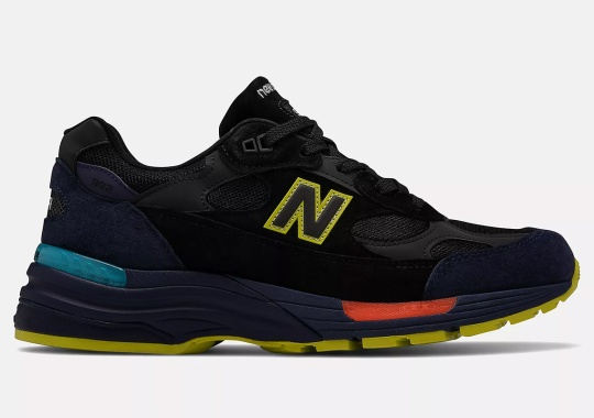 This New Balance 992 Depicts Neon Lights At Night
