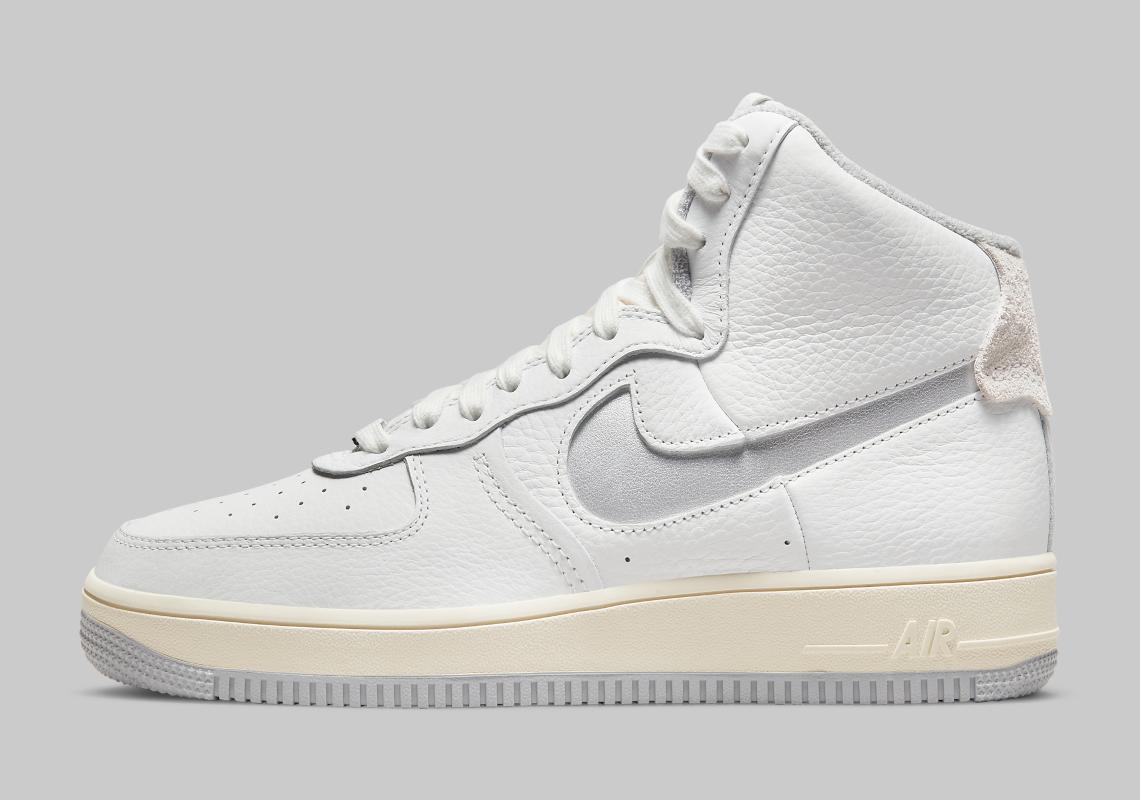 Nike Air Force 1 High Strapless Grey DC3590-101 | SneakerNews.com