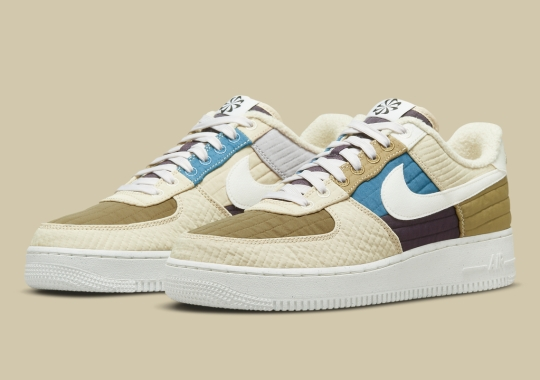 """Nike's """"Toasty"""" Collection Expands With An Air Force 1 Low In """"Brown Kelp/Sail"""""""