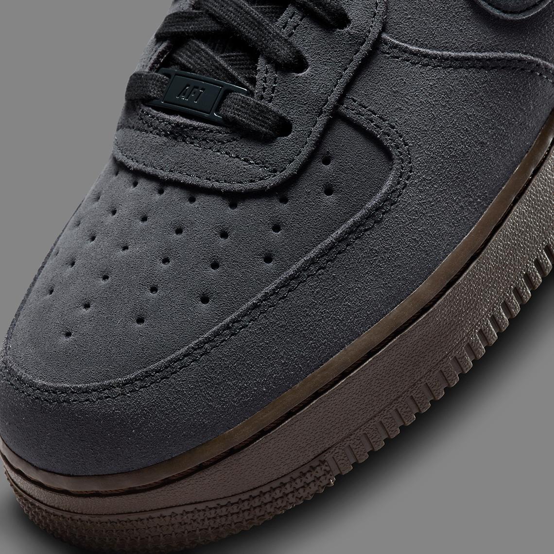 Nike Air Force 1 Off Noir Dark Chocolate Black DO6730-001 ...