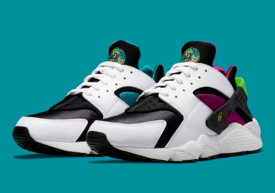 """Official Images Of The Nike Air Huarache """"Peace, Love, Basketball"""""""