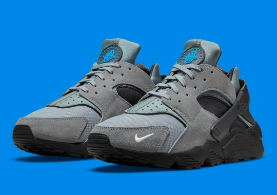 The Persistent Mini Swoosh Now Appears On The Nike Air Huarache
