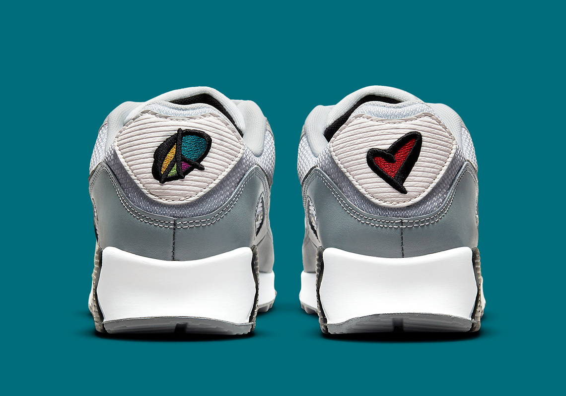 Nike Air Max 90 Peace Love Basketball DM8151-100   SneakerNews.com