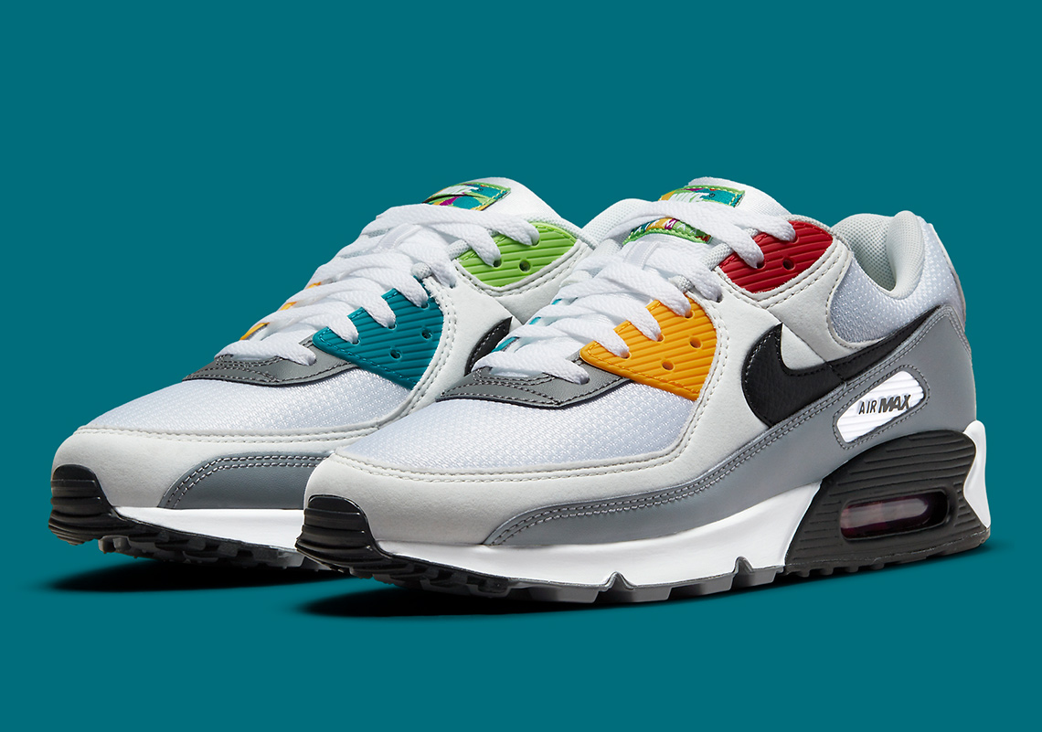 Nike Air Max 90 Peace Love Basketball DM8151-100 | SneakerNews.com