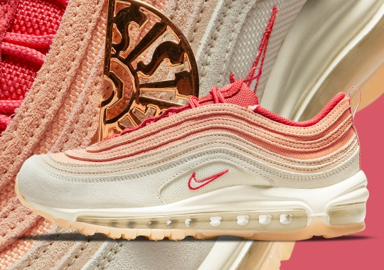 """Salmon And Pink Tones Appear On The Nike Air Max 97 """"Sisterhood"""""""