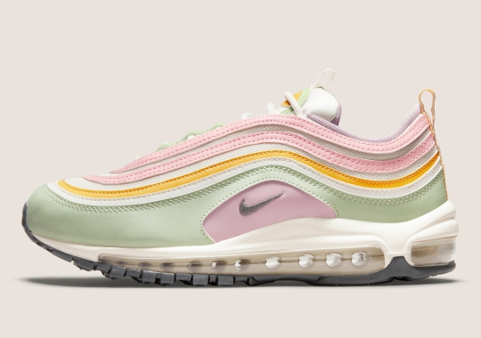 Late Spring Pastels Blossom On The Nike Air Max 97