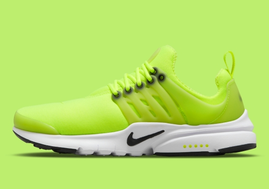 """The Nike Air Presto Appears In Bold """"Volt"""""""