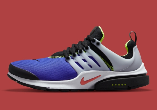 Classic Joker Colors Loosely Inspire This Nike Air Presto