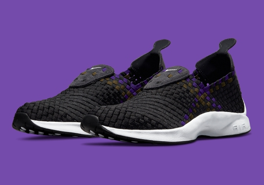 Olive And Purple Threads Add Color To This Upcoming Nike Air Woven