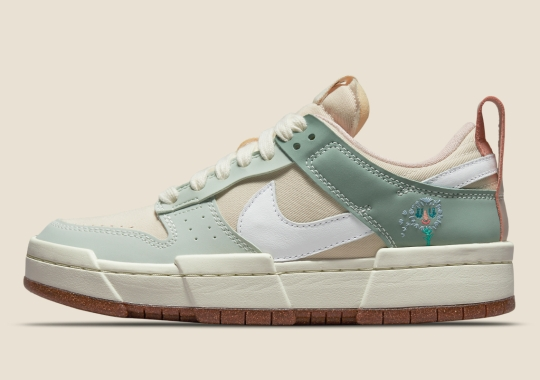 Nike Dunk Low Disrupt Sprouts Dandelion Weeds