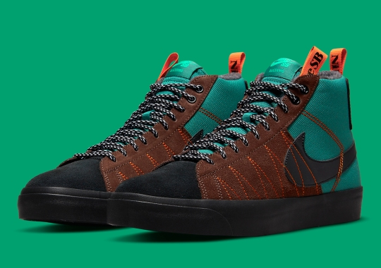 """The Nike SB Blazer Mid """"Acclimate Pack"""" Outfitted For The Great Outdoors"""