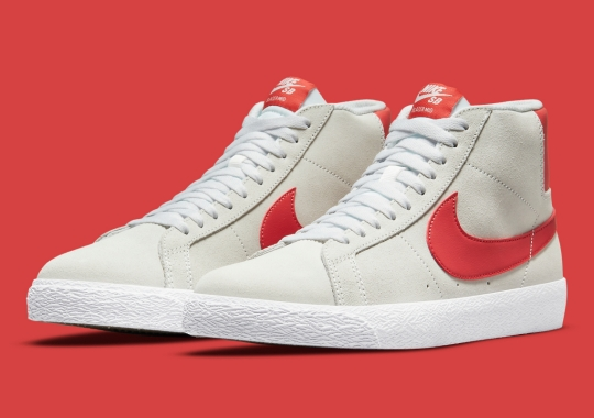 """The Nike SB Blazer Mid """"Lobster"""" Is On The Way"""