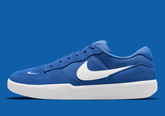 The Nike SB Force 58 Appears In Rich Blue