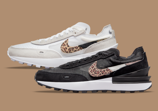 Luxury Animal Prints Join Forces On The Nike Waffle One
