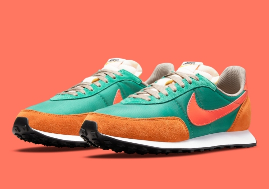 """The Nike Waffle Trainer 2 SP Returns In """"Green Noise"""" And """"Bright Crimson"""""""