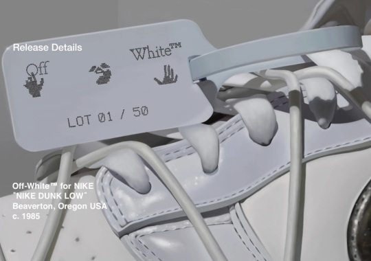 Nike Shares More Details On The Off-White Dunk Exclusive Access For August 9th